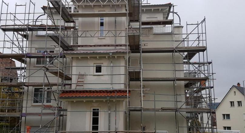 Fassadensanierung MFH