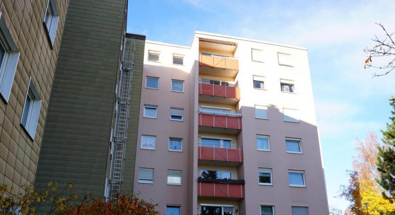 Fassadensanierung Mehrfamilienhaus